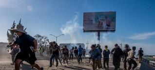 Repressive Maßnahmen gegen die Migrantenkarawane in Mexiko nehmen zu