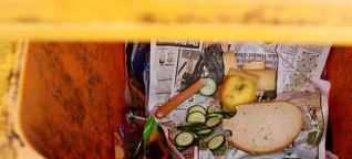 Lebensmittelverschwendung: 18 Millionen Tonnen für die Tonne