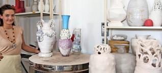 Barock trifft Popkultur: Die Leipziger Künstlerin Sarah Pschorn