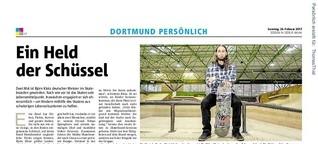 Dortmund Persönlich: Skateboarder Björn Klotz