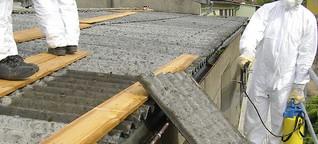 Asbest - krebserregend und unvergänglich