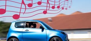 Wenn das E-Auto singt