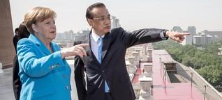 Bundeskanzlerin Merkel auf schwieriger Mission in China