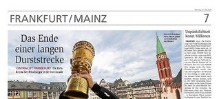 Eintracht Frankfurt: Das Ende einer langen Durststrecke