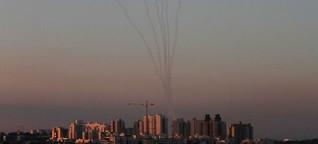 Israel im Raketenhagel