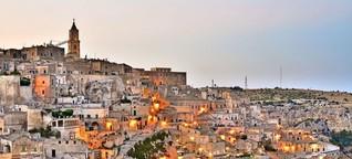 Matera, Europäische Kulturhauptstadt 2019: Himmel, Hölle, Hollywood