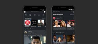 Facebook bringt seinen YouTube-Konkurrenten in Stellung