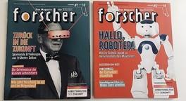 Die forscher-Magazine 2018