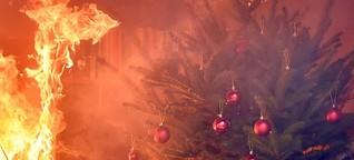 Feuerwehr warnt vor Brandgefahren im Advent