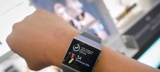 Trend auf der IFA: Armbänder für mehr Bewegung