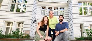 Stolperstein-Aktion für jüdische Berliner in Wilmersdorf