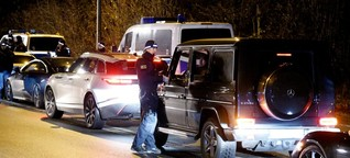 """Kriminelle Clans bedrohen immer öfter Polizisten: """"Plötzlich stehen drei Leute vor deiner Haustür"""""""