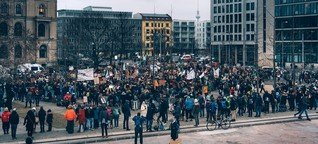 Schülerstreik: Sie müssten in der Schule sein
