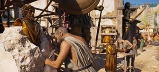 Farbanstrich für das antike Griechenland