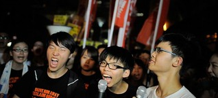 Hong Kong students galvanize on social media to protest against Beijing plans | DW | 24.09.2014