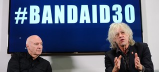Bob Geldof's Band Aid 30 ignites heated debate on social media | DW | 21.11.2014