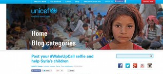 #WakeUpCall gets people out of bed to help children in Syria | DW | 08.10.2014