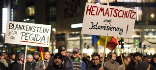 """5500 Menschen bei rassistischem """"Pegida""""-Protest in Dresden - Störungsmelder"""