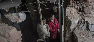Krieg in der Ostukraine: Der Tod kommt in der Nacht