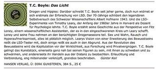 """Rezension T.C. Boyle """"Das Licht"""""""