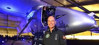 """Solarflieger Bertrand Piccard: """"Das ist die Magie von Abenteuer"""""""