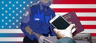 Hacker erklärt: So reist ihr mit eurem Smartphone sicher in die USA ein