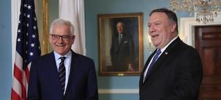 Nahost-Gipfel in Polen: Die merkwürdige Nahost-Allianz von Warschau und Washington