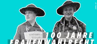 100 Jahre Frauenwahlrecht - watson