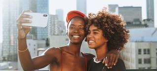 Studie: Junge Frauen, die Selfies nachbearbeiten, fühlen sich dadurch nicht besser