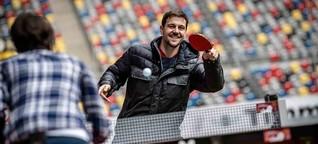 """Tischtennis-Star ohne Allüren: """"Ich bin der Timo"""""""