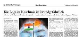 Die Lage in Kaschmir ist brandgefährlich