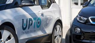 Nun nimmt das Auto-Abo auch in der Schweiz Fahrt auf