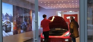 Tesla schlägt Kaufinteressenten die Ladentür vor der Nase zu
