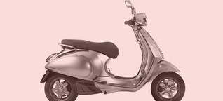 Den ikonischen Vespa-Roller gibt es bald als E-Scooter - WIRED
