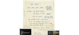 Steve Jobs: Handschriftlicher Werbebrief wird versteigert! - COMPUTER BILD