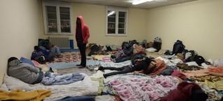 Flüchtlingsrouten - Durchatmen in Bayonne