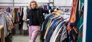 Mainz: Früher Müll, heute Mode: Robin, der Retter der Roben