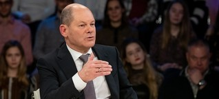 """Finanz-Talk bei """"Illner"""": Der Doppel-Scholz"""