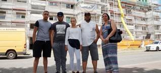 Familie in der Daimlerstraße: Dach über dem Kopf gesucht