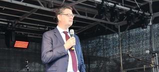Was SPD-Spitzenkandidat Thorsten Schäfer-Gümbel in Nidderau sagte