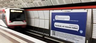 Auf dieser Plattform kannst du Hassnachrichten melden, wenn Facebook, YouTube und Co. sie nicht löschen