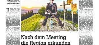 Nach dem Meeting die Region erkunden