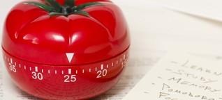 Wie du mit einer Tomate besser arbeitest