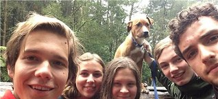 Fünf Backpacker aus Schwerte und Dortmund retten Hund in Neuseeland vor dem Einschläfern