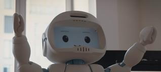 Un feeling pour les robots