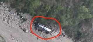 Bus falls into 200 feet deep gorge in Himachal Pradesh's Chamba, 12 died
