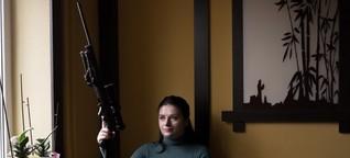Waffenbesitzer in der Ukraine: Gut aufgerüstet