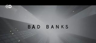 Investment-Banker auf der Leinwand