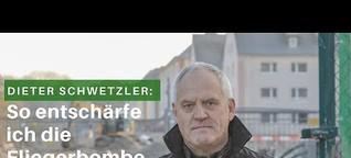 Wie entschärft man eine Fliegerbombe? Interview mit Dieter Schwetzler