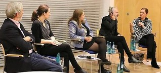 Panel discussion: Israel celebrates 70 years - the Israeli-German relations today